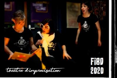 Théâtre d''improvisation - FIBD Angoulême 2020 à Angouleme