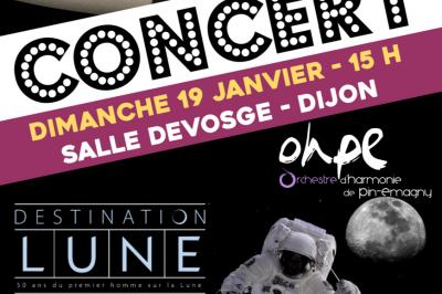 Grand concert d'hiver : Destination LUNE à Dijon