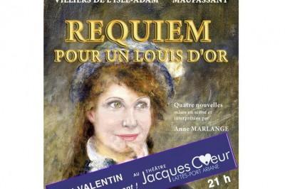 Requiem pour un louis d'or à Lattes le 14 février 2020