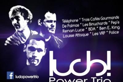 Ludo! Power Trio en concert (1ère partie : Shelby Lee Blackbird à La Genetouze
