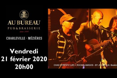 Concert Mr Maxx & Chad Strentz à Charleville Mezieres