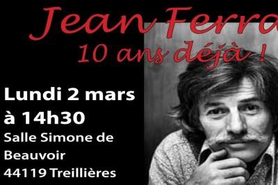 Jean Ferrat, 10 Ans Déjà ! à Treillieres