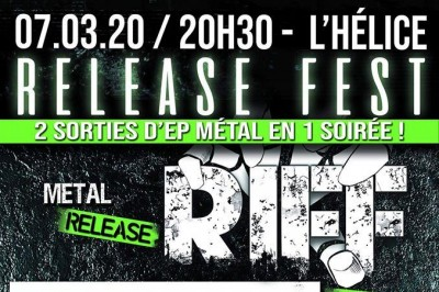 Release Metal Fest : RIFF, Theory et Blooming Discord à Toulon