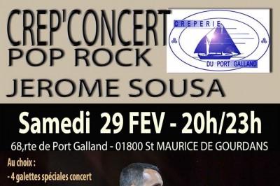 Crep'concert pop rock à Saint Maurice de Gourdans