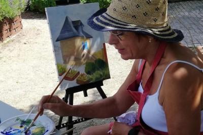 Peintres dans la Rue à Gravelines