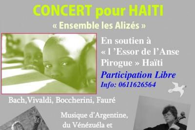 Concert pour HAITI