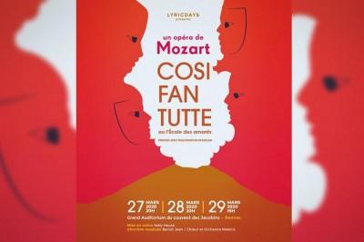 Cosi Fan Tutte - Opéra de Mozart à Rennes