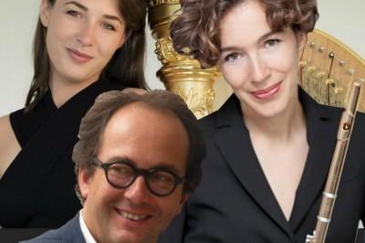 Trio Anaïs Gaudemard Harpe, Juliette Hurel Flûte, Miguel Da Silva Alto à Nancy