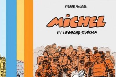 Michel, une expo E.D.M Intérim / Dédicace de Pierre Maurel à Montpellier