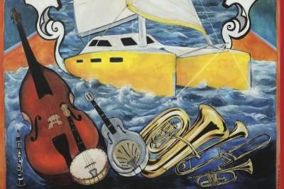 Jazz sur les quais de Sète / bal swing / concert dessiné à Sete