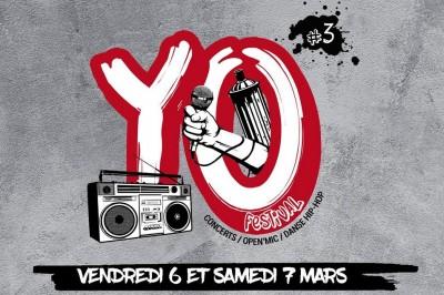 Yo ! Festival : Concerts, Open'mic, Danse Hip-hop à Rodez