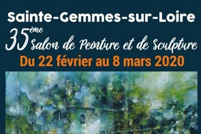 35ème Salon de Peinture et de Sculpture à Sainte Gemmes sur Loire