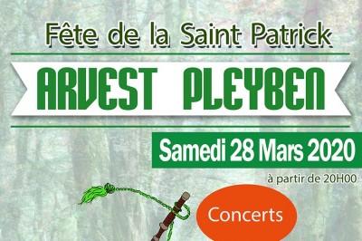 Soirée concerts de la Saint Patrick à Pleyben