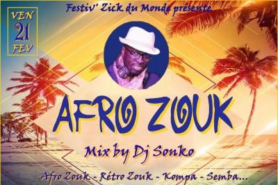 Afro Zouk - Mix Dj Sonko à Montpellier