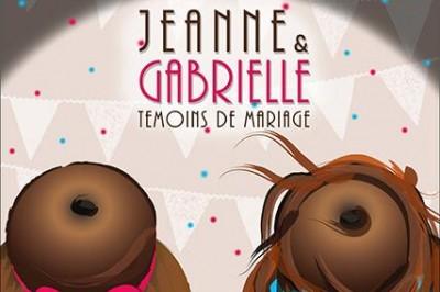 Jeanne & Gabrielle, témoins de mariage à Lyon