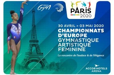 Championnats d'Europe de gymnastique artistique féminine 2020 à Paris 12ème