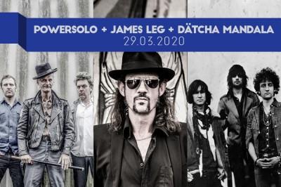 James Leg, Powersolo et Dätcha Mandala à Strasbourg