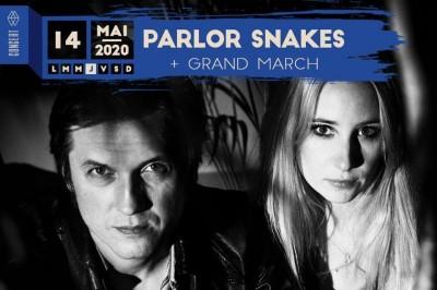 Parlor Snakes et Grand March à Strasbourg