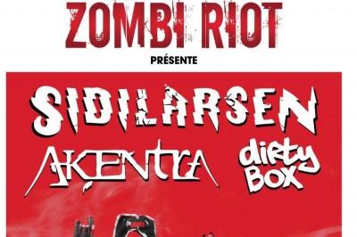 Zombi Riot: Sidilarsen, Akentra Et Dirty Box à Vernouillet