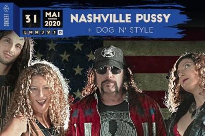 Nashville Pussy et Dog N' Style à Strasbourg