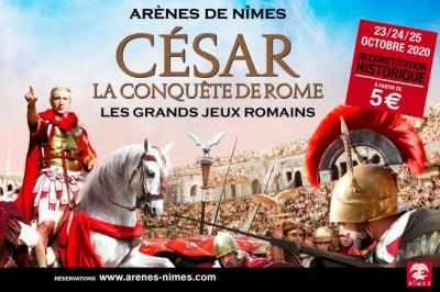 Grands Jeux Romains 2020, César, la conquête de Rome à Nimes