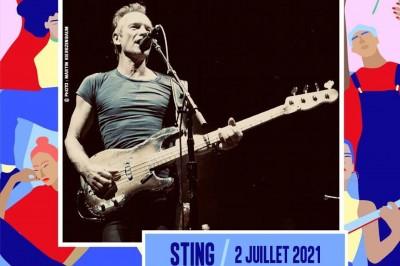 Sting à Arras