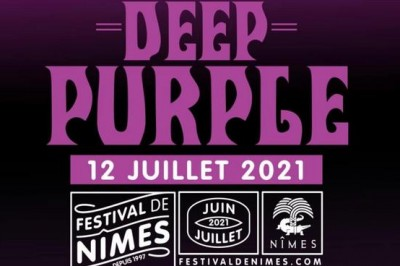 Deep Purple - Report à Nimes