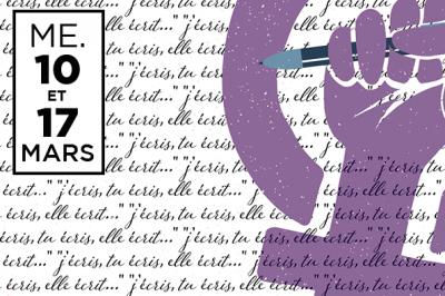 L'ÉCHO DU 8 MARS | Atelier d'écriture -