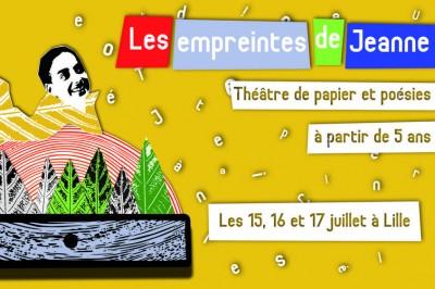 Les empreintes de Jeanne - Spectacle à partir de 5 ans à Lille