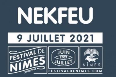 Nekfeu - Report à Nimes