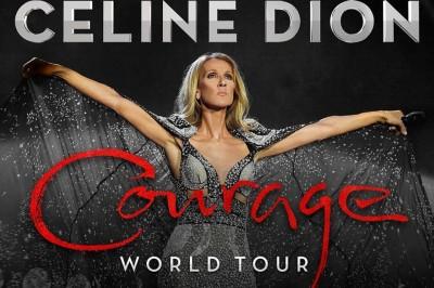 Céline Dion Courage World Tour - Report à Nanterre