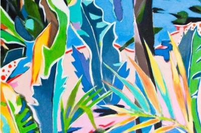 Bernard Marie Collet, exposition de peinture Luxuriances à Brignogan Plage