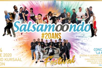Festival salsa #20ansSalsamoondo 2020