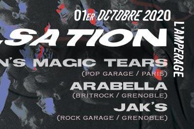 Pulsation #1 avec Bryan's Magic Tears, Arabella et Jak's à Grenoble