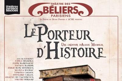 Le Porteur d'Histoire à Paris 18ème