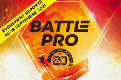 Battle Pro - Report à Paris 12ème