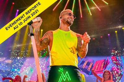 Maluma - World Tour - Report à Paris 12ème