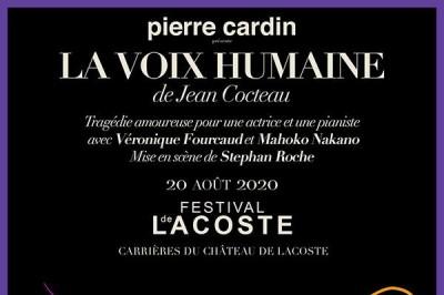 La Voix Humaine De Jean Cocteau à Lacoste