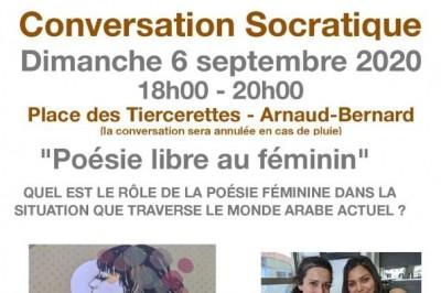 Conversation Socratique : Poésie Libre Au Féminin à Toulouse