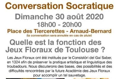 Conversation Socratique : Quelle Est La Fonction Des Jeux Floraux De Toulouse?