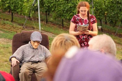 Festival de théâtre Soirs à Pressoirs - Théâtre et vin dans les vignes à Reichsfeld