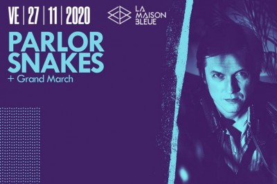 Parlor Snakes et Grand March à Strasbourg