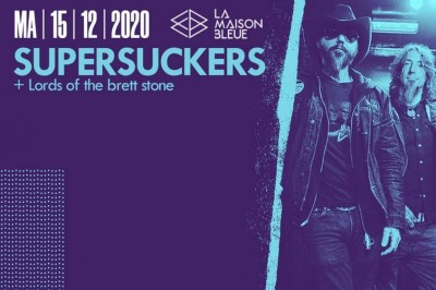 Supersuckers Et Lords Of The Brett Stone à Strasbourg