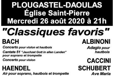 Classiques Favoris Bach Haendel à Plougastel Daoulas
