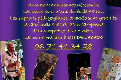 Cours de saxophone à Guidel