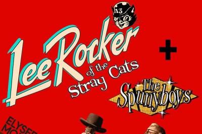The Stray Cats' Lee Rocker à Paris 18ème
