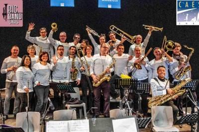 Big Band du CNRS Conférence Concert à Marseille