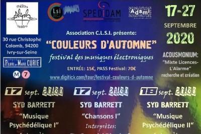 Festival Couleurs d'Automne 2020