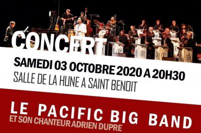 Concert Annuel Du Pacific Big-band Avec En Invitee Anandha Seethanen à Saint Benoit