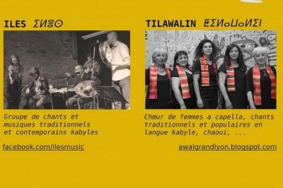 Soirée Amazigh : Tilawalin Et Iles à Villeurbanne